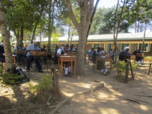 The Water Project : 12-kenya4639-not-enough-classrooms