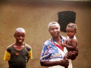 The Water Project : 12-kenya4703-joyce-musera-and-her-family
