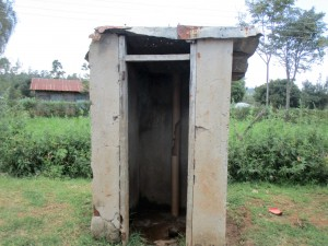 The Water Project : 13-kenya4632-latrines
