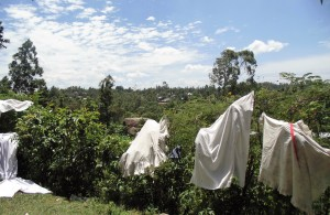 The Water Project : 13-kenya4701-no-clothesline
