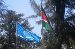 The Water Project : 15-kenya4639-school-flag-with-kenyan-flag
