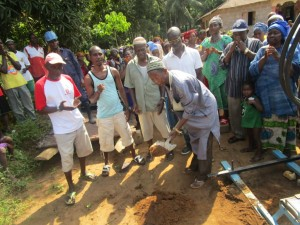The Water Project : 16-sierraleone5095-breaking-ground