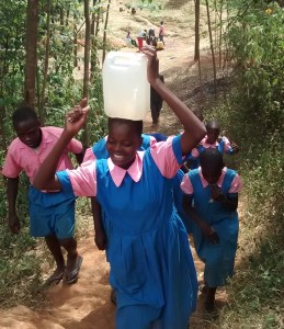 The Water Project : 19-kenya4648-carrying-water-back