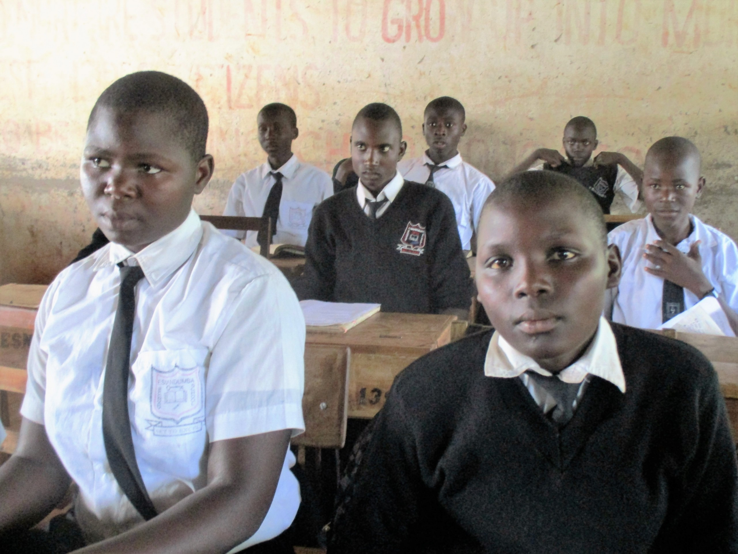 The Water Project : 2-kenya4633-students