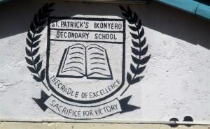 The Water Project : 2-kenya4639-school-motto