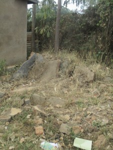 The Water Project : 20-kenya4639-collapsed-latrines