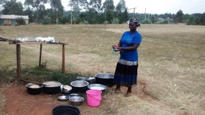 The Water Project : 21-kenya4648-cook-washing-utensils