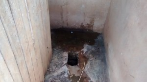 The Water Project : 22-kenya4648-inside-of-a-latrine