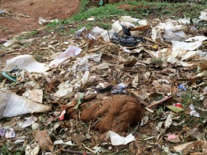 The Water Project : 25-kenya4632-garbage-pit