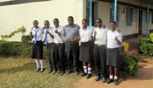 The Water Project : 4-kenya4645-students