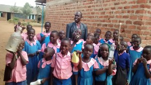The Water Project : 4-kenya4648-students-and-headteacher