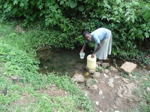 The Water Project : 4-kenya4701-fetching-water