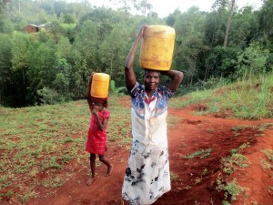 The Water Project : 8-kenya4703-carrying-water