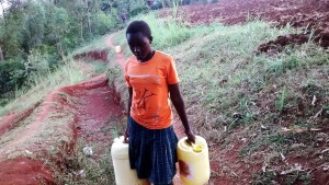 The Water Project : 9-kenya4703-carrying-water