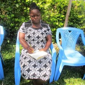 The Water Project : 1-kenya4593-phoebe-kombo