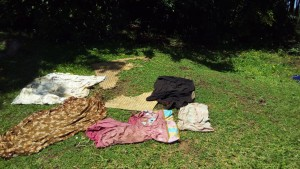 The Water Project : 11-kenya4700-clothes-drying-on-ground