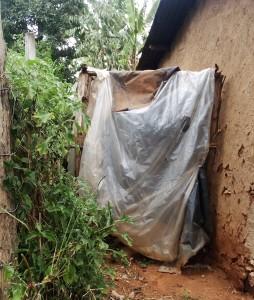 The Water Project : 15-kenya4709-improvised-latrine