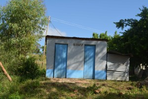 The Water Project : 16-kenya4800-staff-latrines