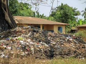 The Water Project : 16-sierraleone5103-rubbish-pit