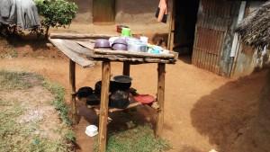 The Water Project : 17-kenya4709-dish-rack