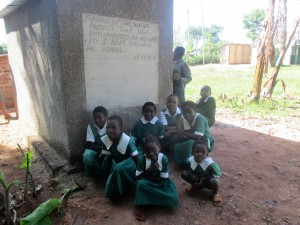 The Water Project : 19-kenya4632-finished-latrines
