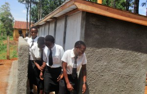 The Water Project : 19-kenya4633-finished-latrines