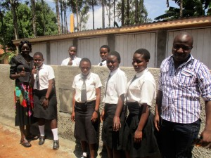 The Water Project : 20-kenya4633-finished-latrines