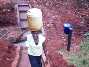 The Water Project : 21-kenya4592-protected-spring