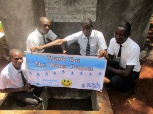 The Water Project : 24-kenya4633-finished-tank