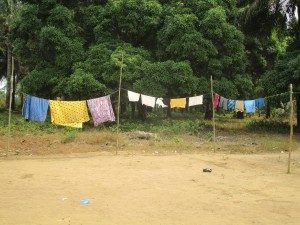 The Water Project : 5-sierraleone5107-clothesline