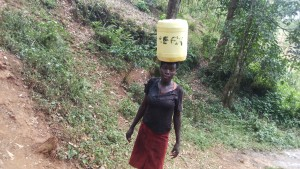The Water Project : 6-kenya4709-balancing-on-head