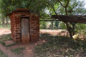 The Water Project : 7-kenya4756-latrine