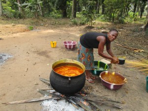 The Water Project : 8-sierraleone5107-preparing-palm-oil