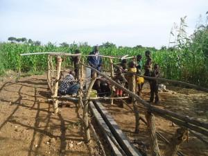 The Water Project : 8-uganda6077-pump-installation