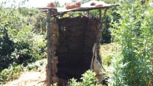 The Water Project : 9-kenya4700-latrines