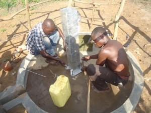 The Water Project : 9-uganda6077-pump-installation