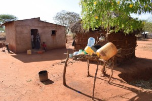 The Water Project : 1-kenya4763-household-1