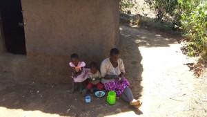 The Water Project : 10-kenya4708-enjoying-cassava