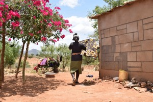The Water Project : 12-kenya4758-clothesline