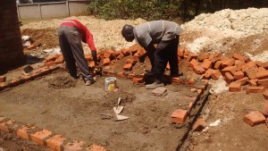 The Water Project : 16-kenya4637-latrine-construction