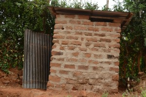 The Water Project : 16-kenya4757-latrine-1