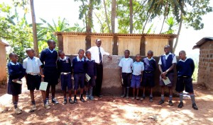 The Water Project : 18-kenya4636-finished-latrines
