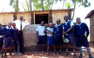 The Water Project : 19-kenya4636-finished-latrines