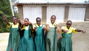 The Water Project : 19-kenya4638-finished-latrines