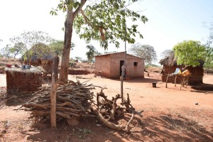 The Water Project : 2-kenya4763-household-1