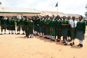 The Water Project : 2-kenya4803-students