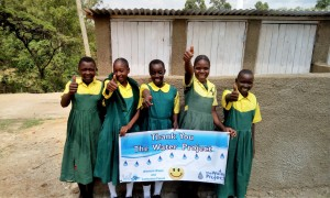 The Water Project : 22-kenya4638-finished-latrines