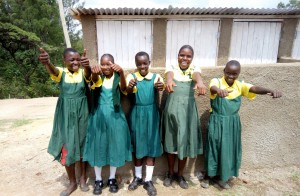 The Water Project : 23-kenya4638-finished-latrines