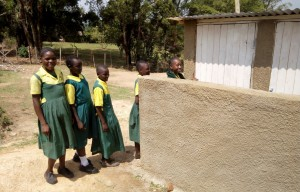 The Water Project : 26-kenya4638-finished-latrines