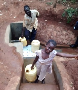 The Water Project : 26-kenya4702-protected-spring